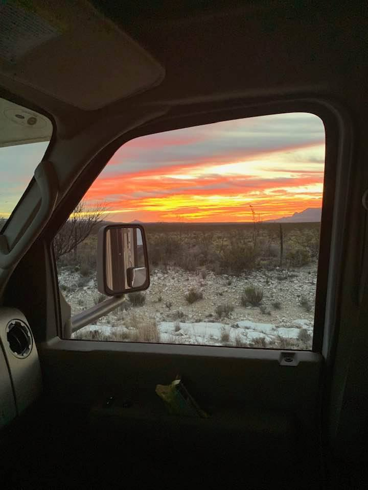 Big Bend Sunrise
