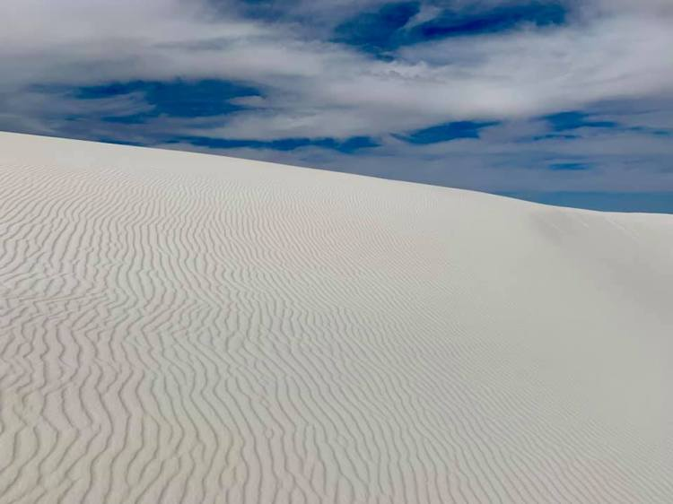 Pretty White Sands
