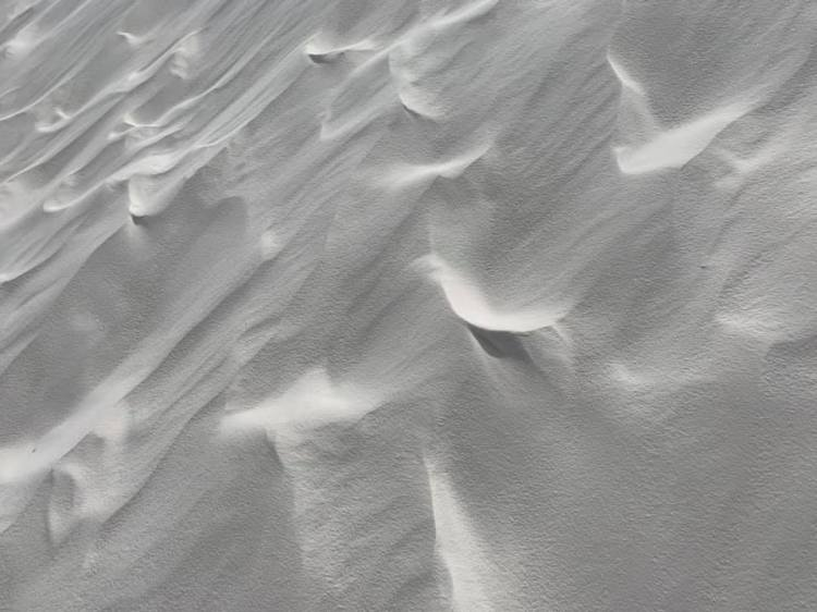 White Sands close up